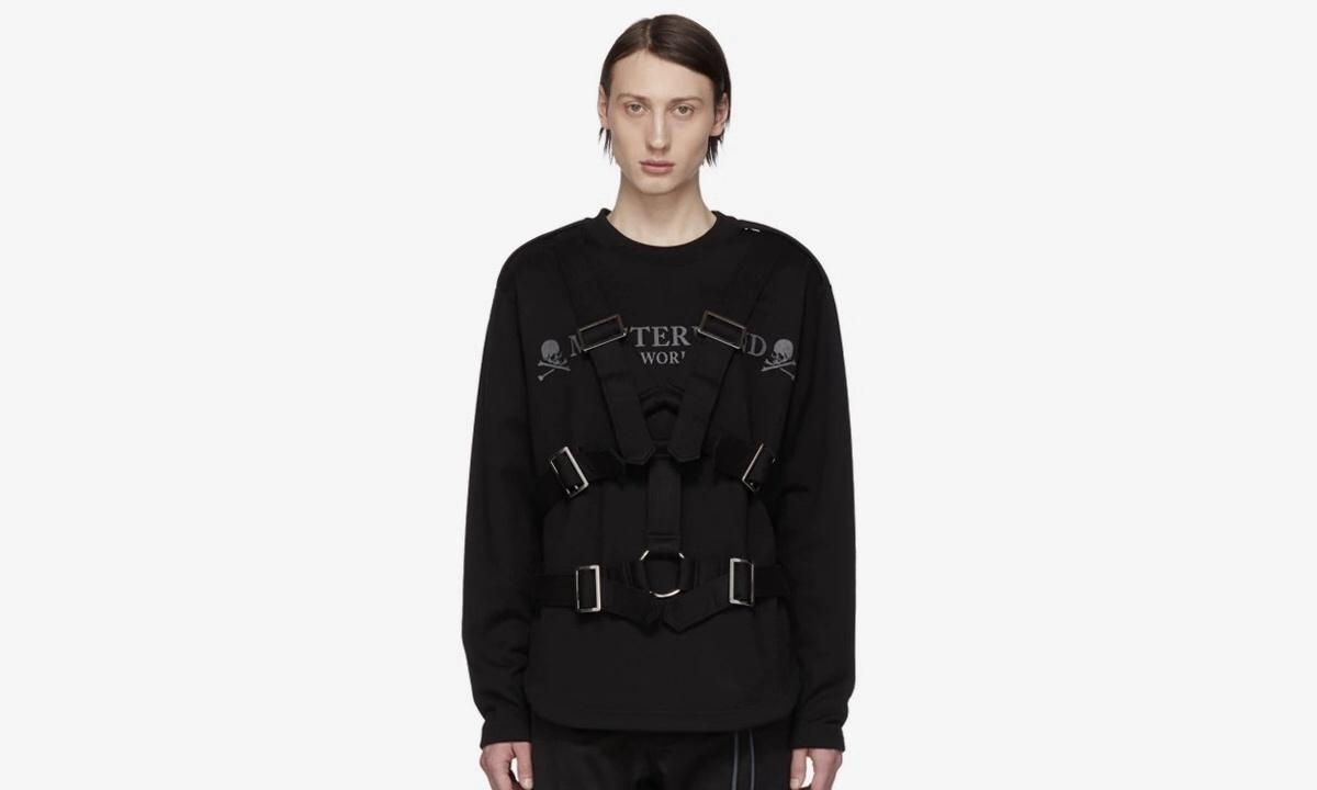 经典款升级,mastermind WORLD 释出 2019 春夏绑带款运动衫