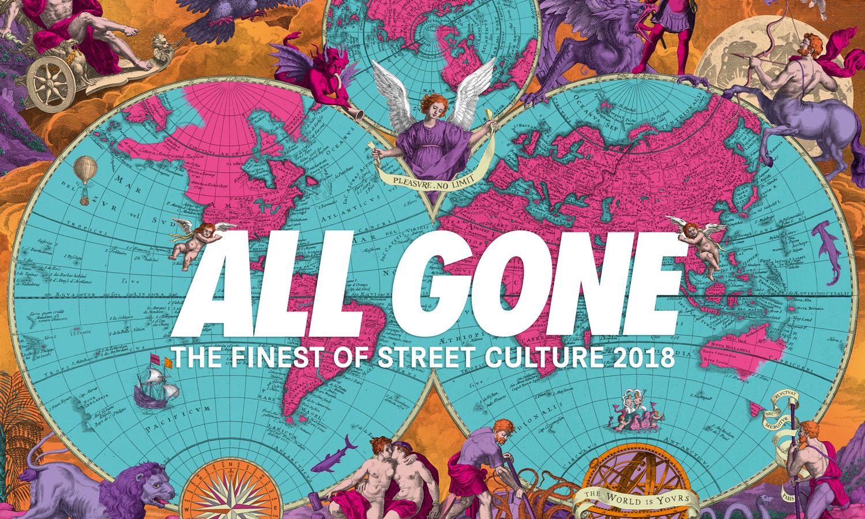 潮流圣经《ALL GONE》将于下周一在 JUICE 上海举办签售会