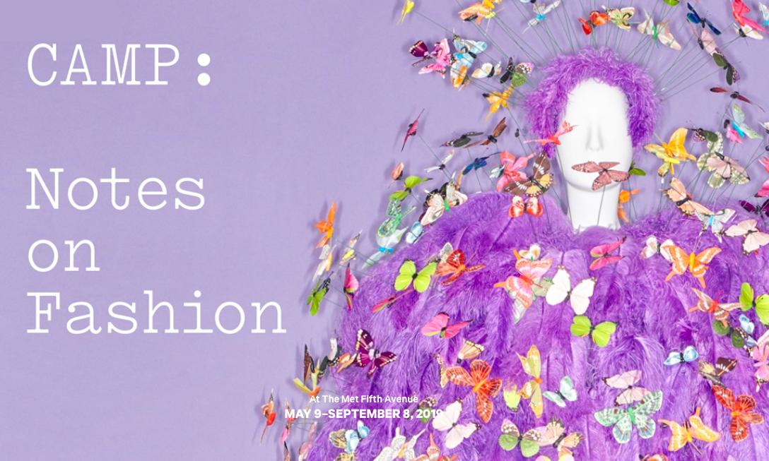 大都会博物馆将举办《CAMP: Notes on Fashion》时装展