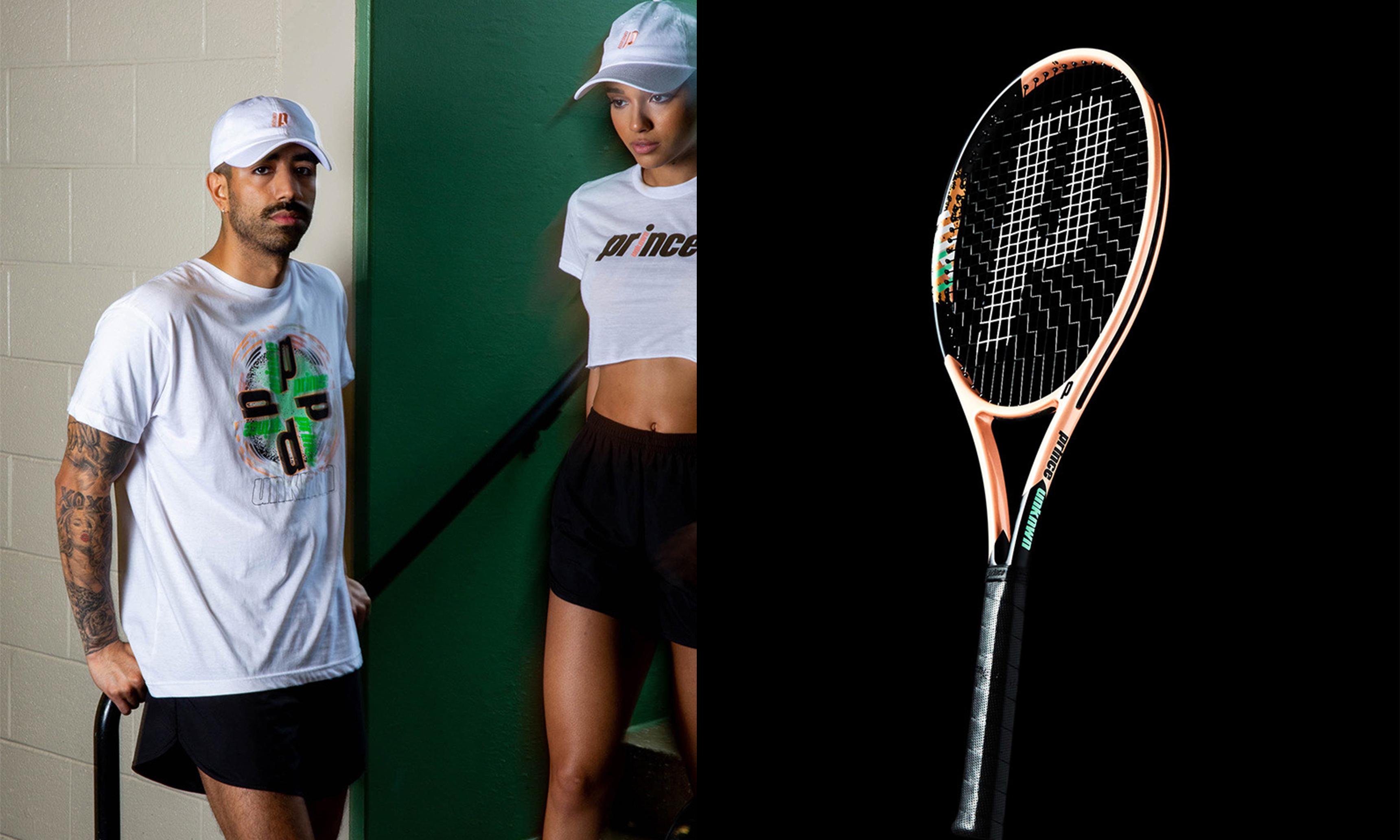 勒布朗·詹姆斯主理潮流店铺 UNKNWN 与网球品牌 Prince 合作