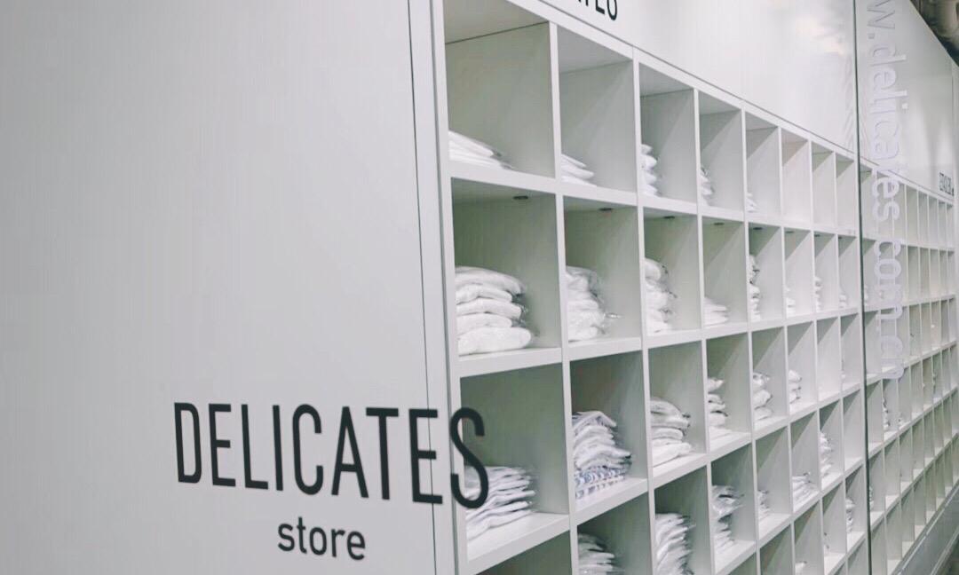 DELICATES 第一家白 Tee 全日制店铺于三里屯开业