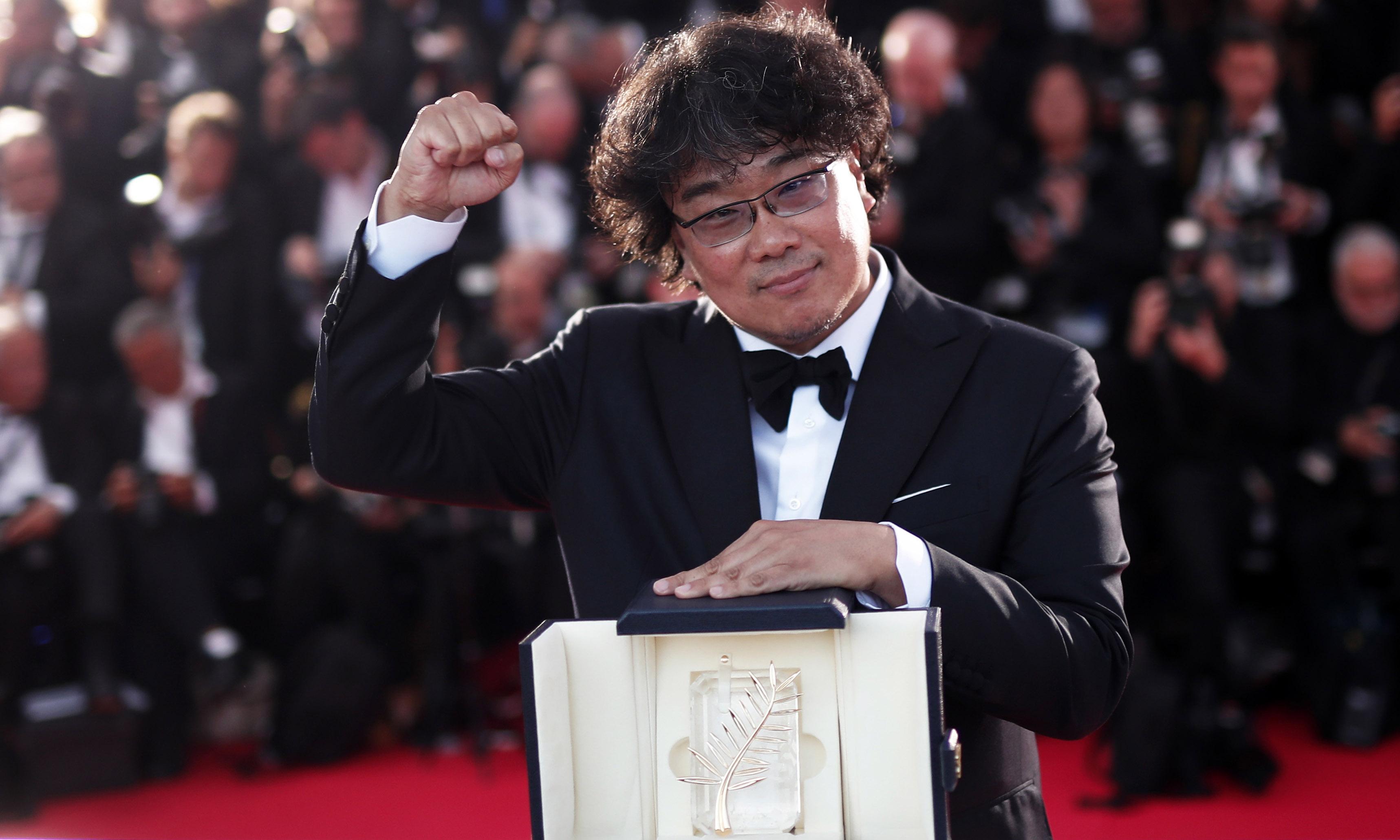 《寄生虫》拿下韩国首个金棕榈最佳影片创造历史