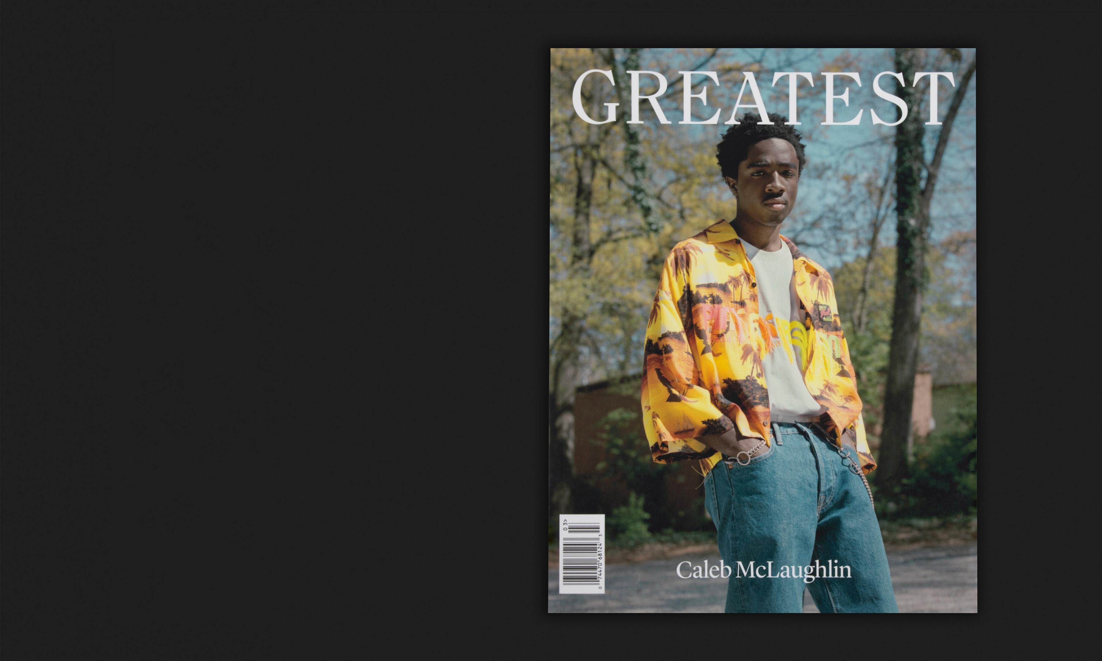 GOAT GROUP 旗下《Greatest》杂志第 3 期出版