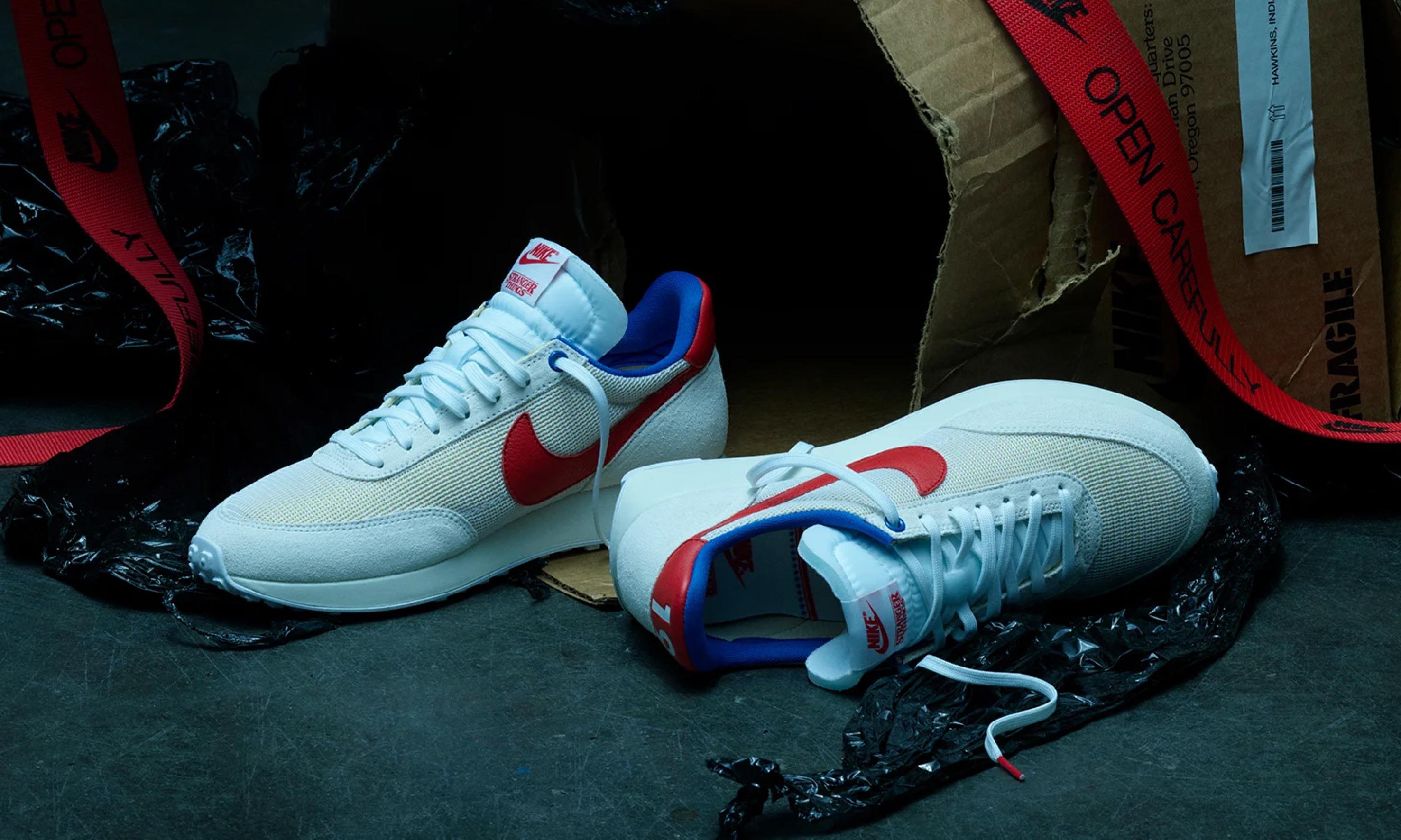 《怪奇物语》x Nike 联名鞋款第二辑登陆国区 SNKRS