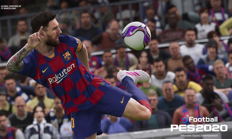 KONAMI 发布新一代足球游戏《eFootball 实况足球 2020》