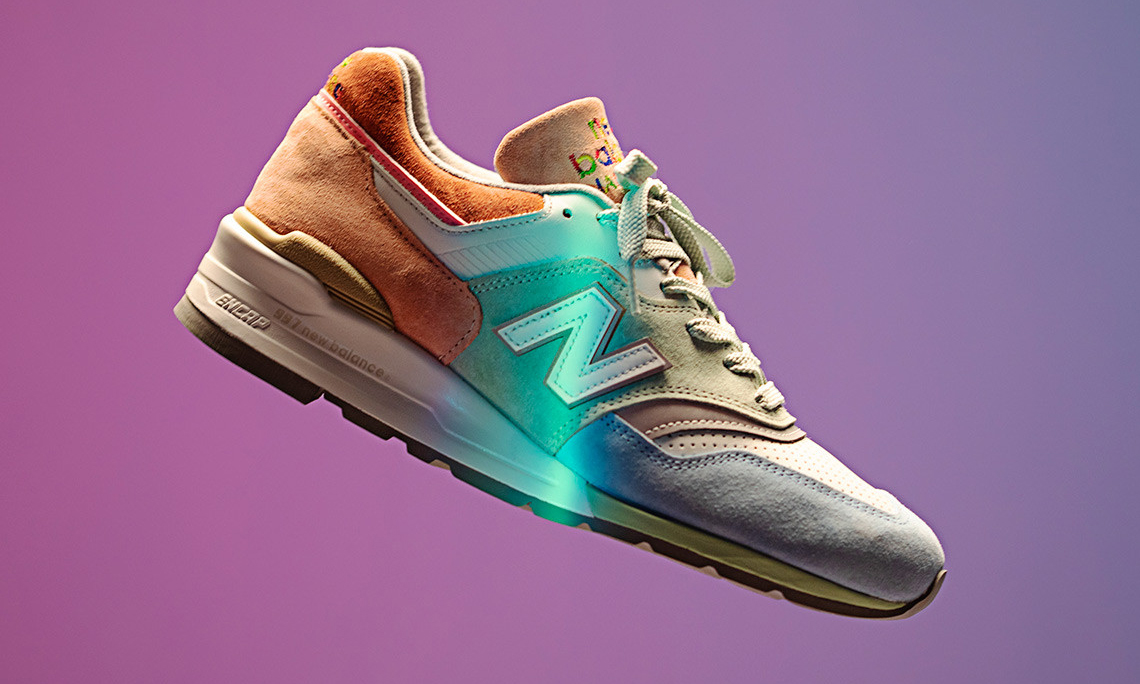 "致敬骄傲月,Todd Snyder x New Balance 997 ""LOVE"" 联名上架"