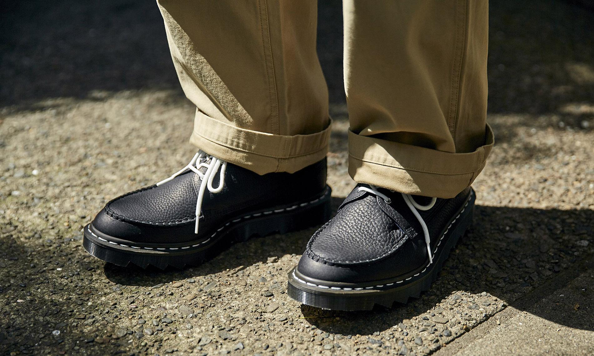 nanamica x Dr.Martens 联名鞋款释出
