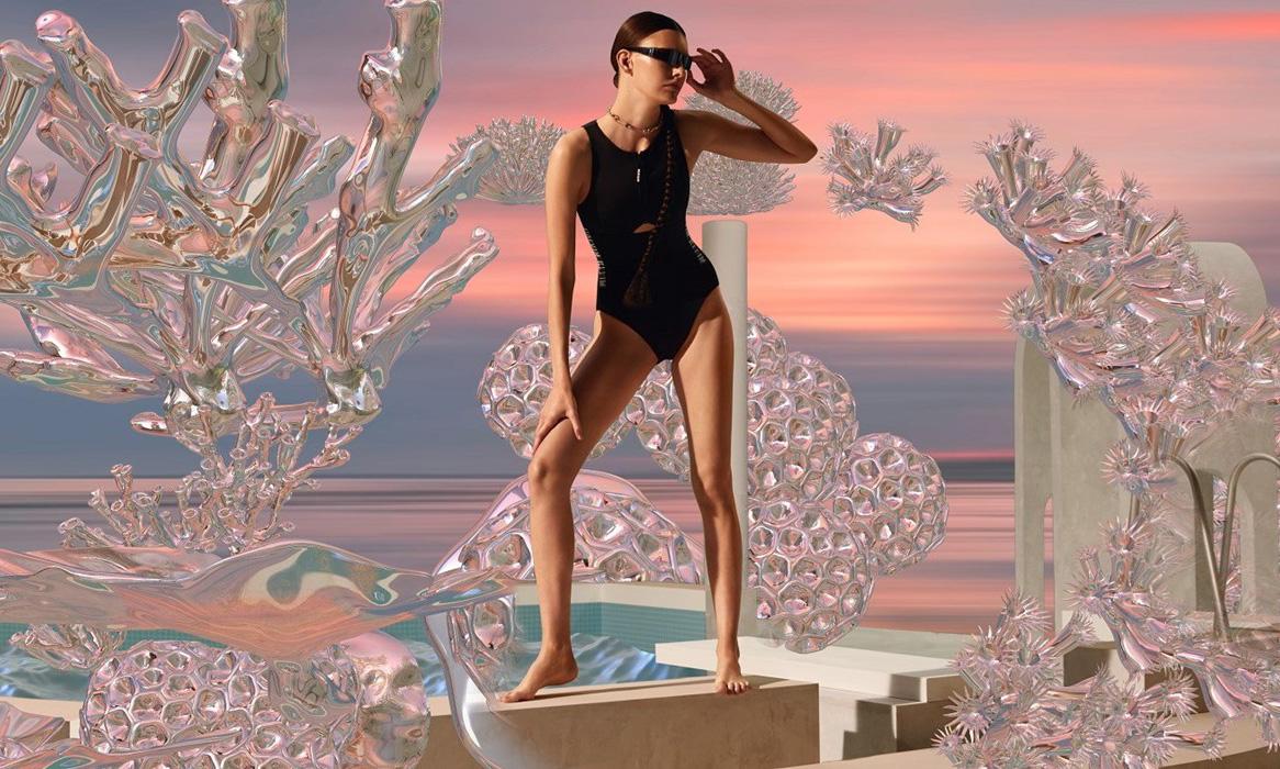 Selfridges AW19 合作数字艺术家幻想时尚的未来