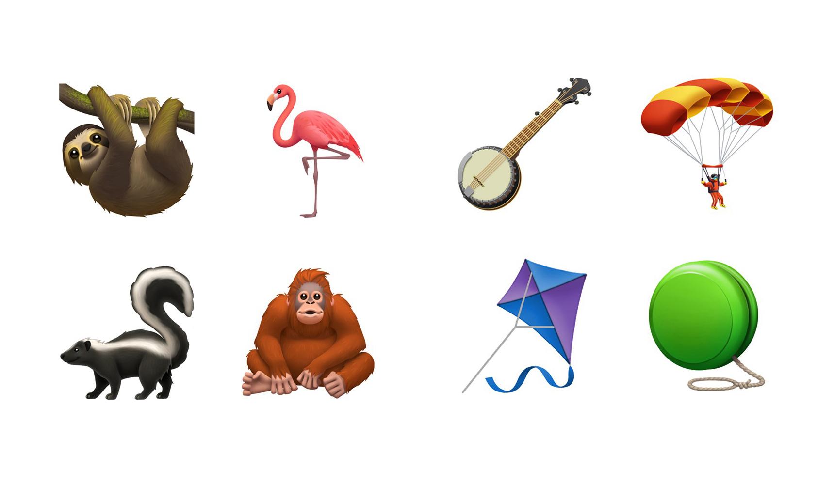 Apple 公布即将更新的 Emoji 集合