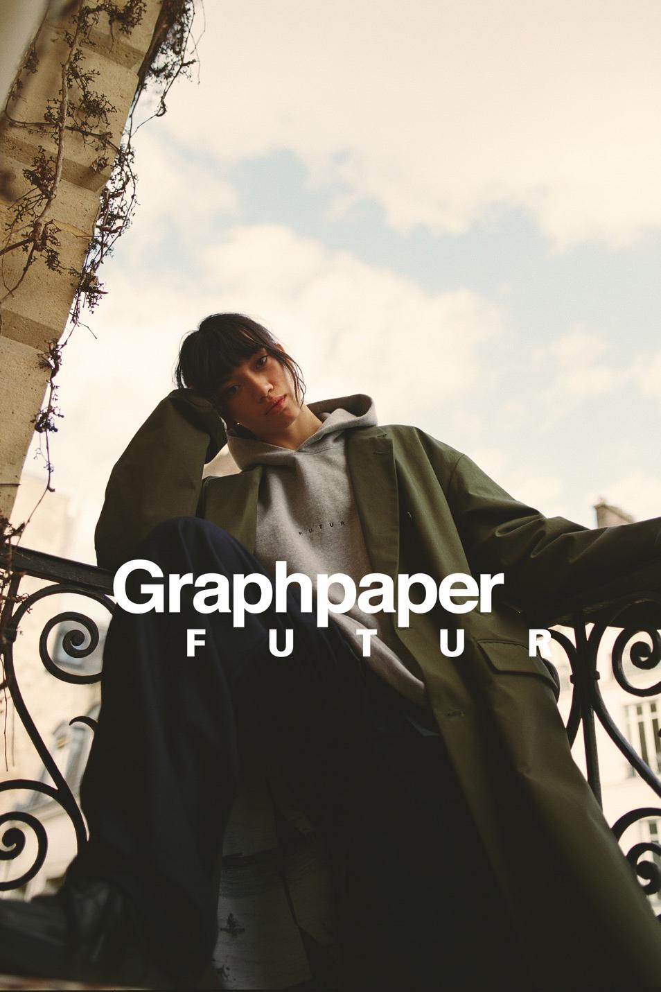 巴黎滑板品牌 FUTUR 携手 Graphpaper 合作推出胶囊系列