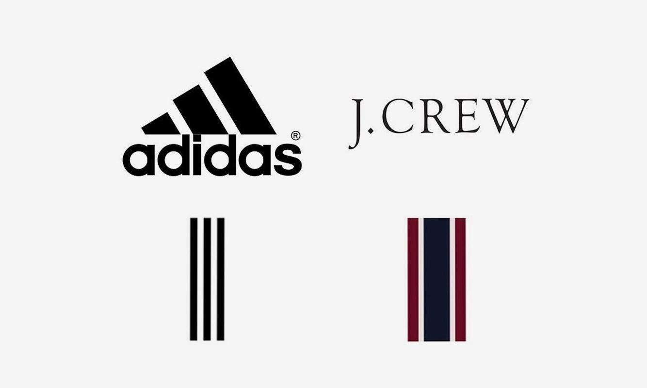 """又是 """"三道杠"""" 惹得祸,adidas 与 J. Crew 发生设计纠纷"""
