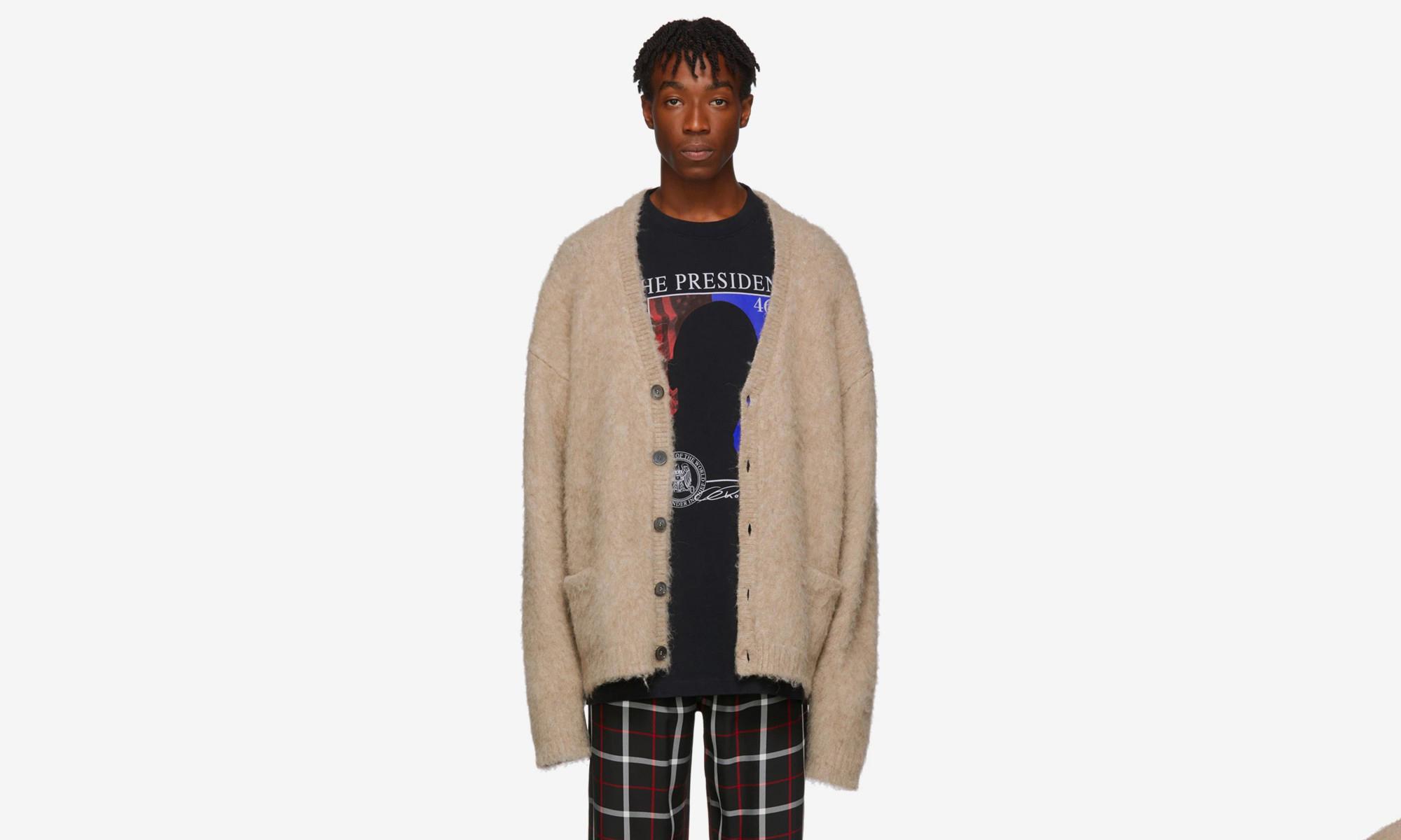 VETEMENTS 推出价值 1,710 美元 Kurt Cobain 同款开衫