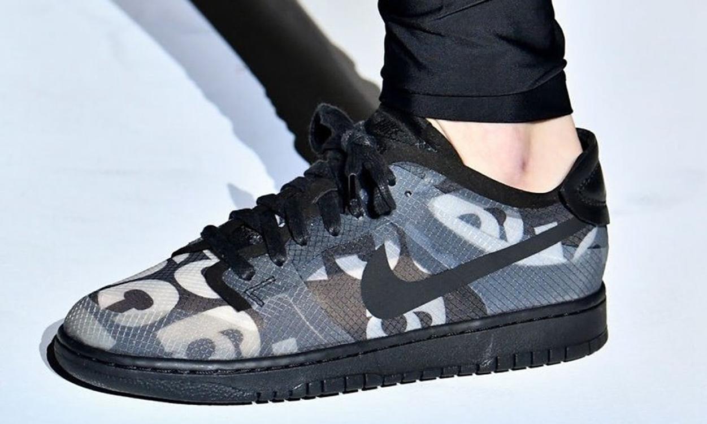 Comme Des Garçons x Nike Dunk Low 实物疑似曝光