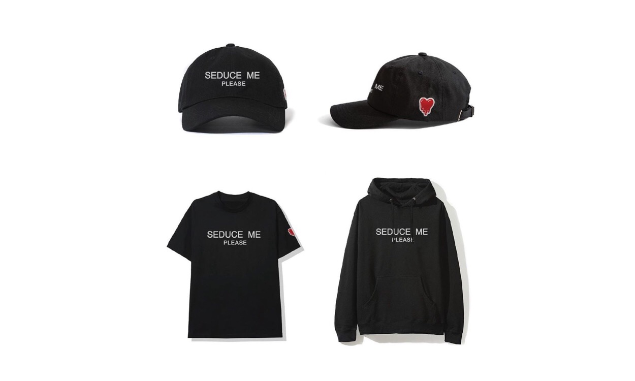 "Emotionally Unavailable ""Seduce Me Please"" 全新单品发售在即"