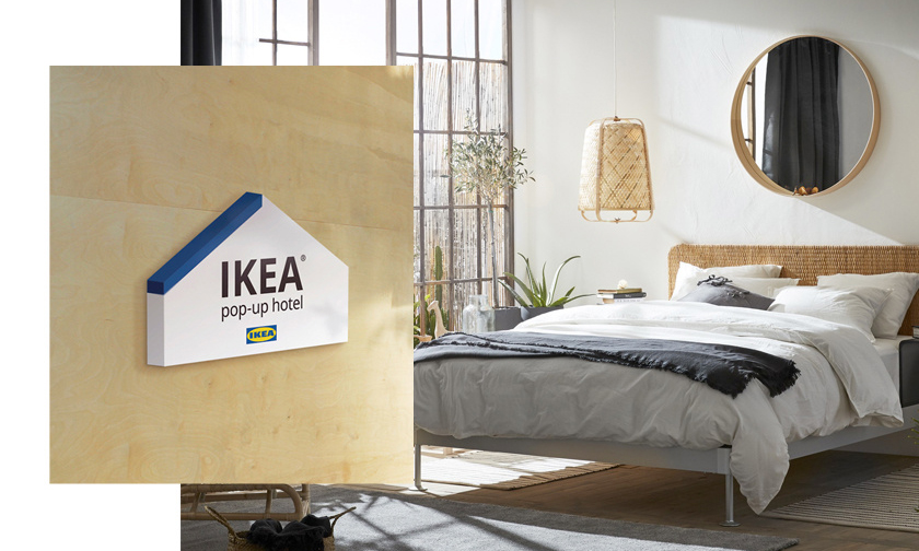 住进像家一样的旅馆?台北开了间 IKEA Hotel