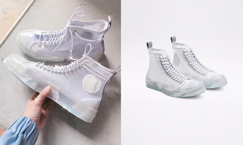 透明感鞋身,CONVERSE 与《Frozen 2》推出联名鞋款