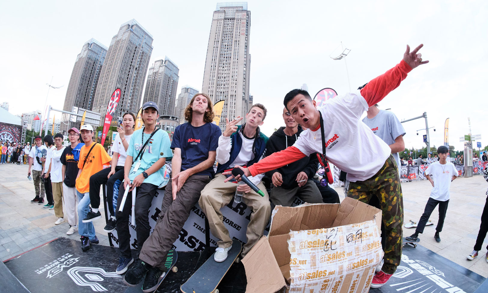 INXXSTREETLab 滑板之旅——潮流视角下的街头文化