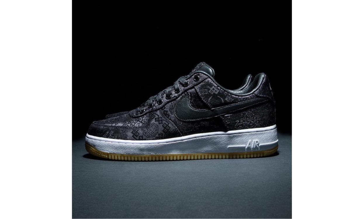 CLOT x fragment design x Nike Air Force 1 本周五抢先登陆东京