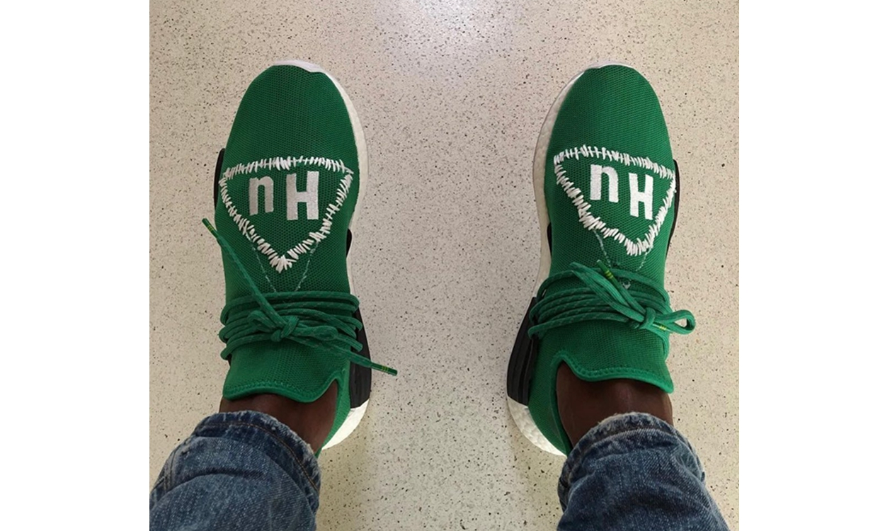CPFM x Pharrell Williams x adidas NMD Hu 三方联乘鞋款疑似曝光