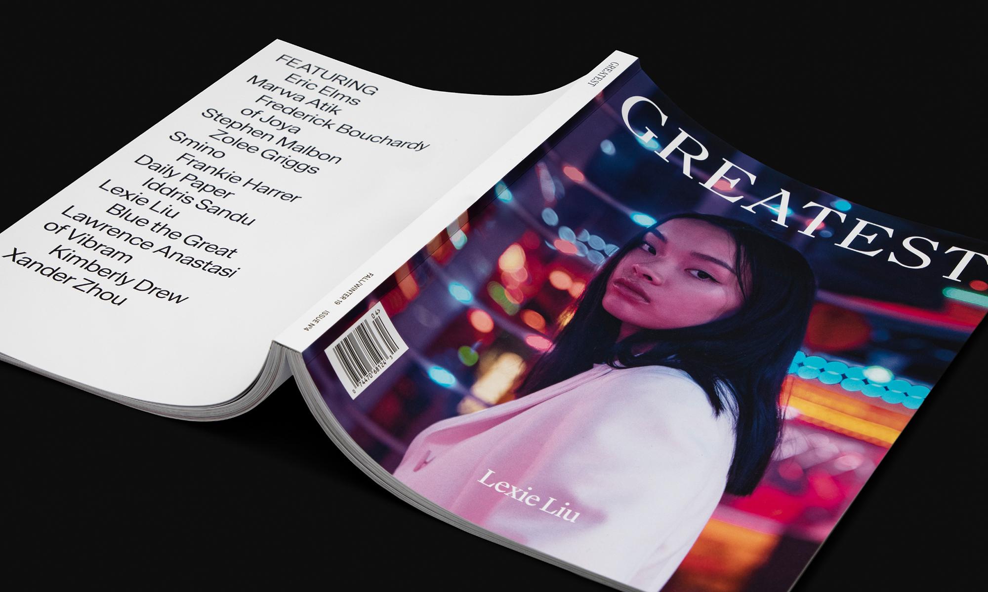 GOAT 旗下杂志《Greatest》第 4 刊发布