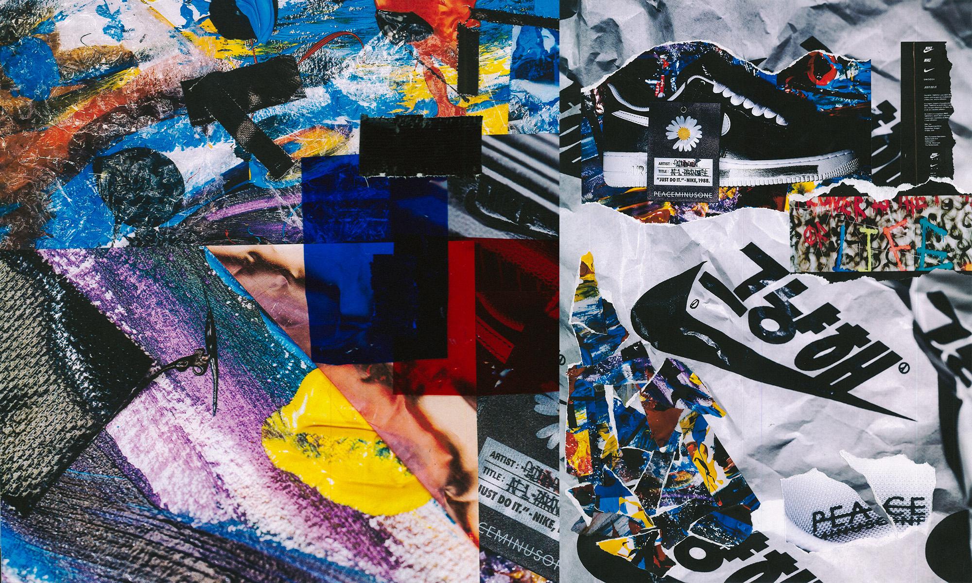 NOWRE 独家近赏 PEACEMINUSONE x Nike Air Force 1「Para-noise」