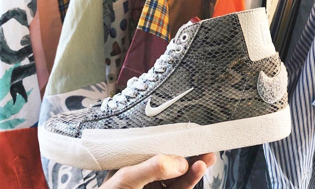 Soulland x Nike SB 新一季联名鞋款将于本月发售