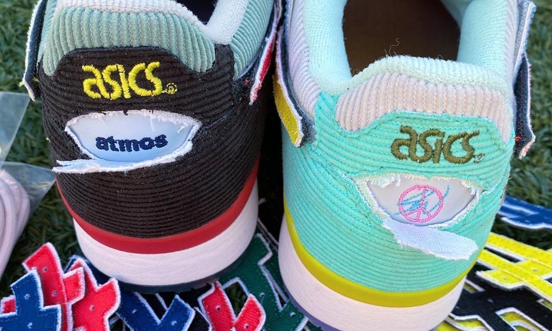 Sean Wotherspoon x atmos x ASICS 联名鞋款曝光更多细节
