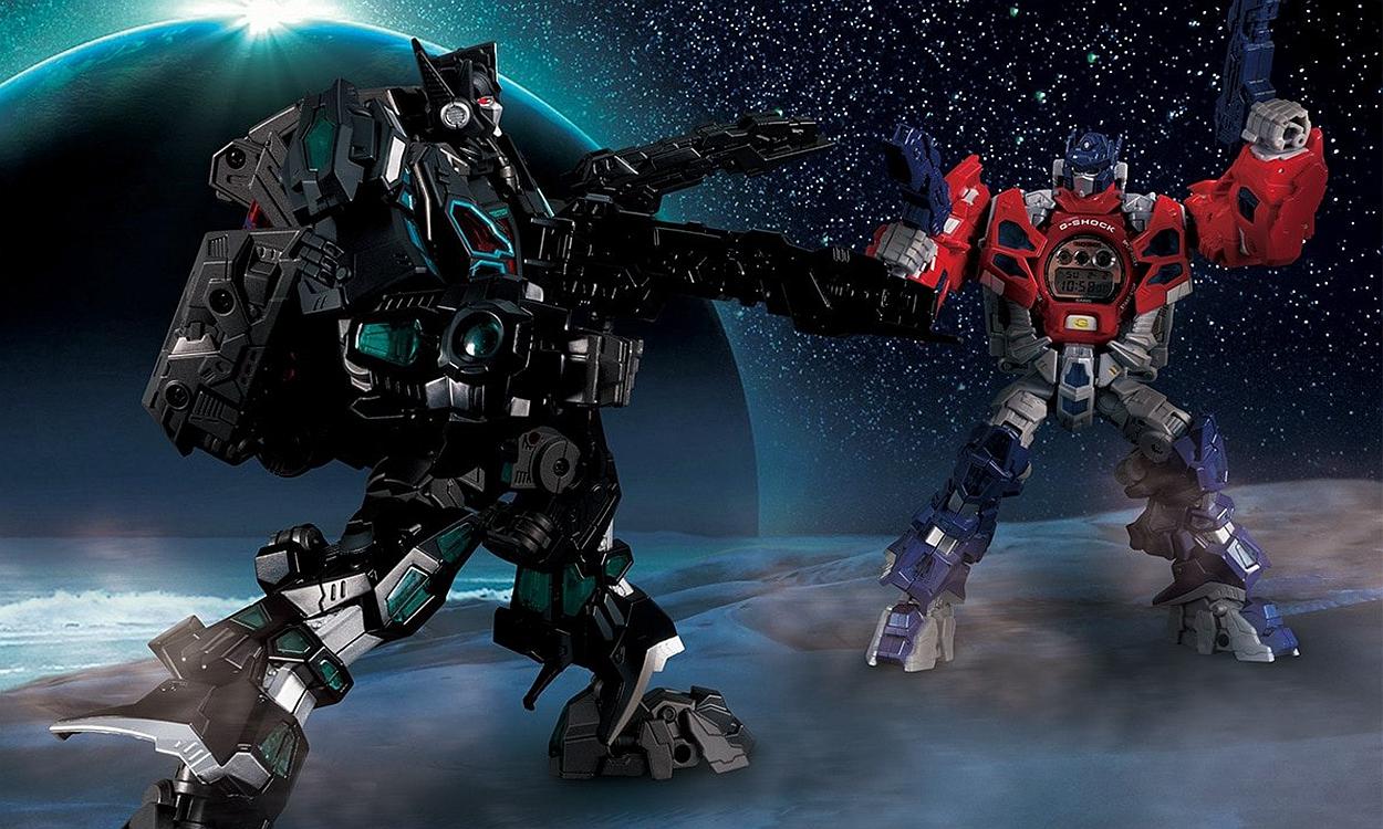 《变形金刚》x G-SHOCK DW-5600「Nemesis Prime」正式发布