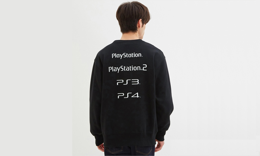 SONY 携手快时尚品牌 GU 发布 PlayStation 主题胶囊系列
