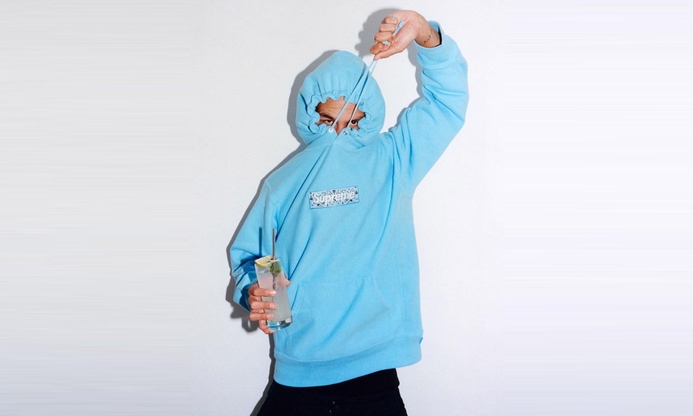 明星单品终至,Supreme Bandana Box Logo 卫衣将于本周发售