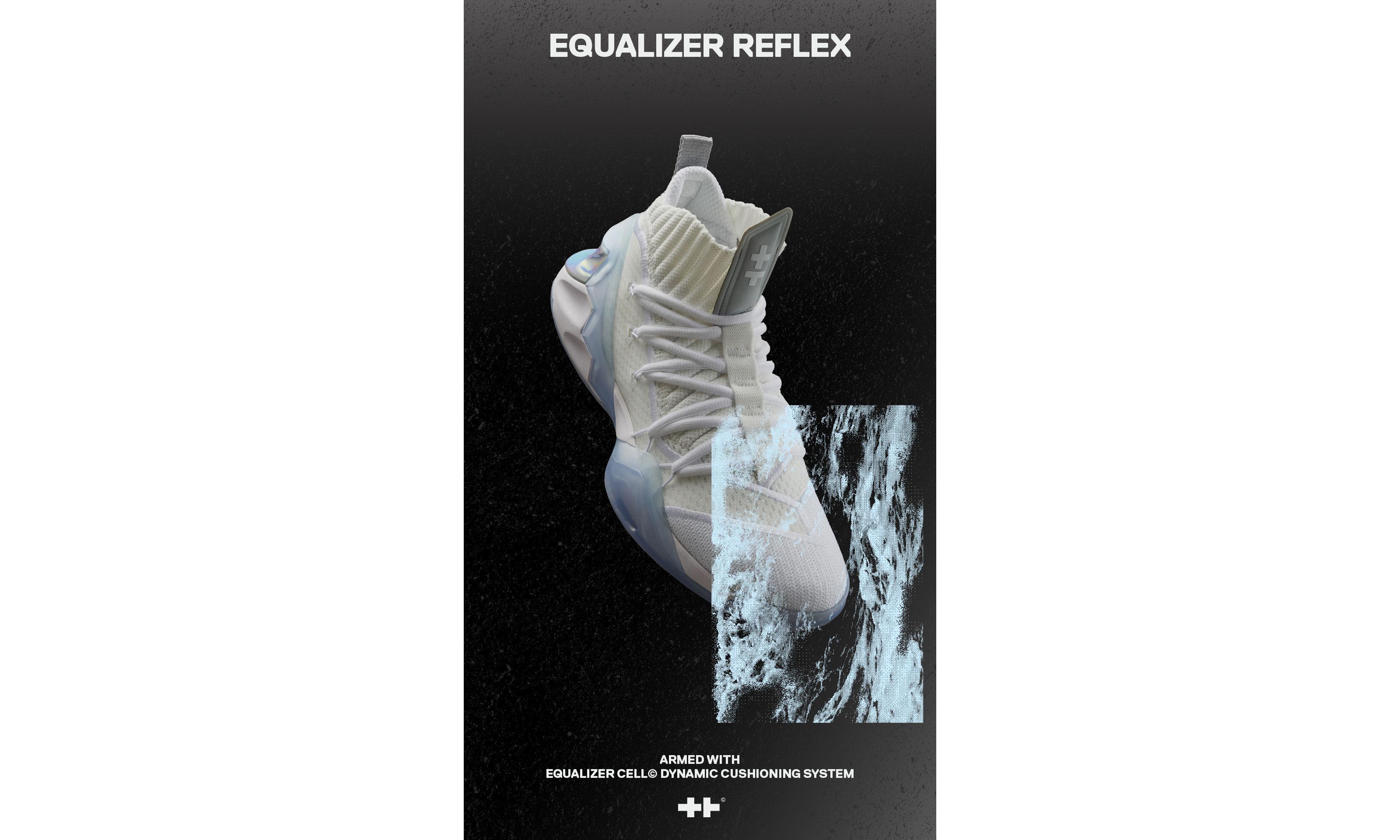 EQUALIZER Black Grass REFLEX 全新篮球鞋系列发布