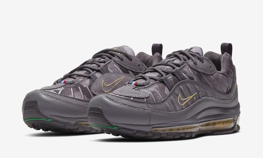 Nike 用一双联名 Air Max 98 为球星 Kylian Mbappé 庆生