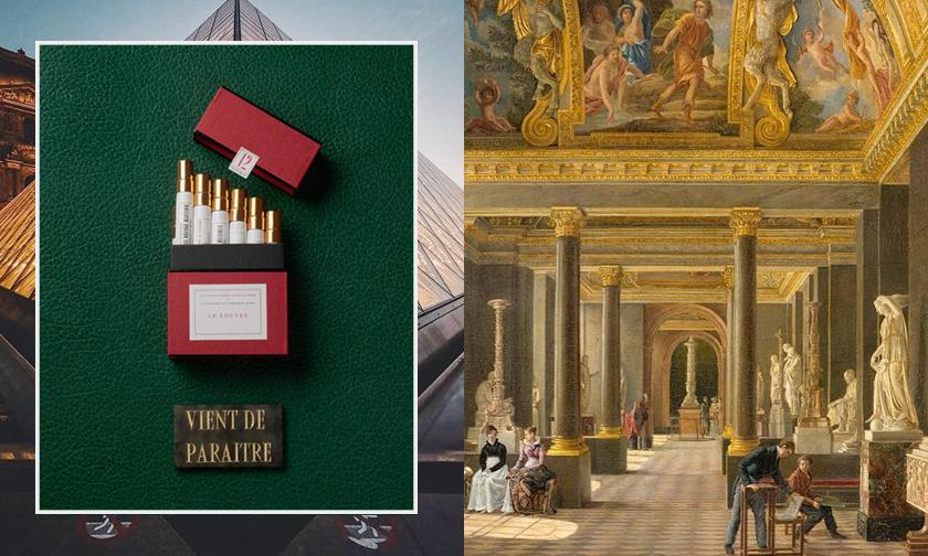 除了与 Off-White 合作,卢浮宫与 Buly 1803 的联名款香水也值得购入
