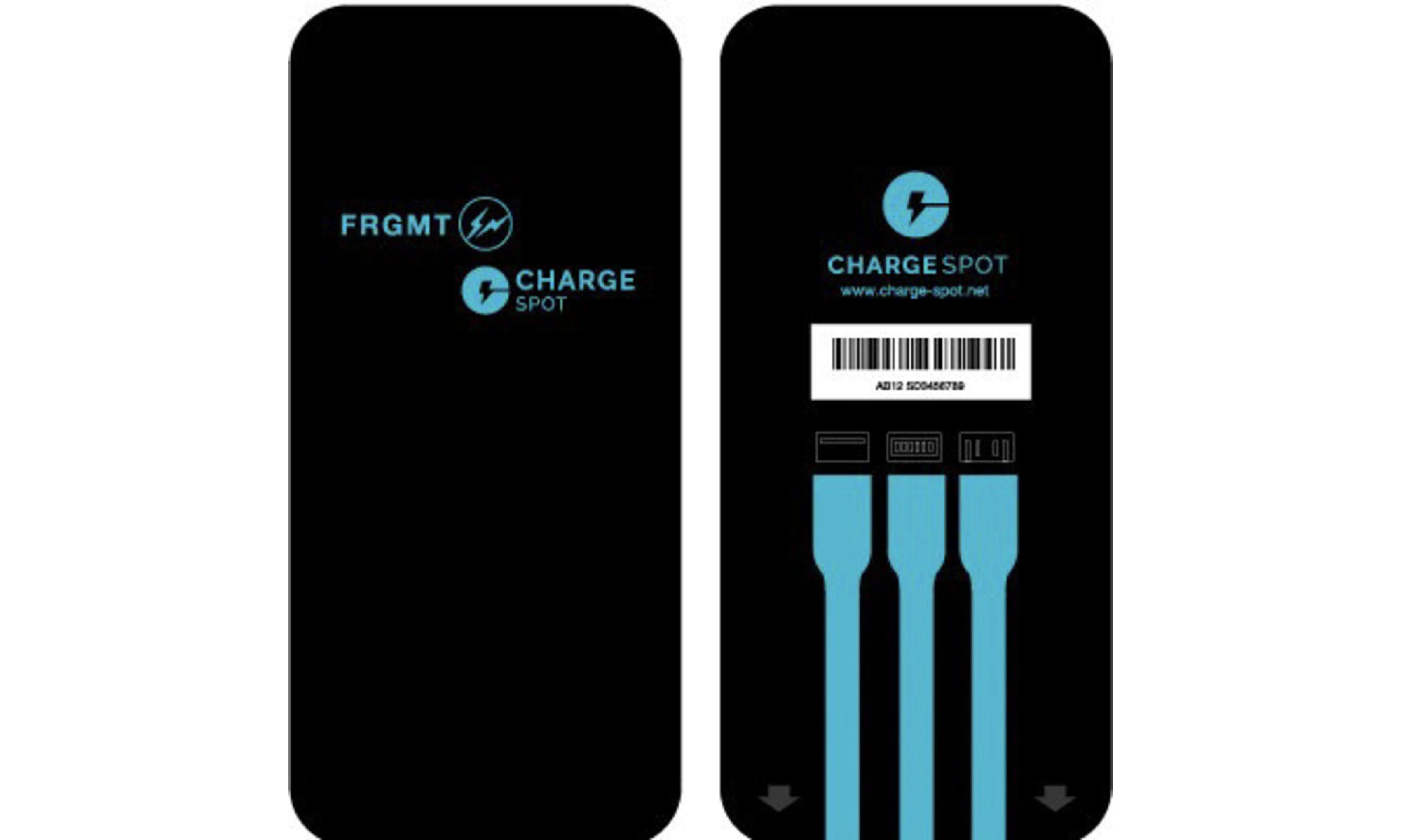 「可以借」的闪电,ChargeSPOT x fragment design 联名共享充电宝发布