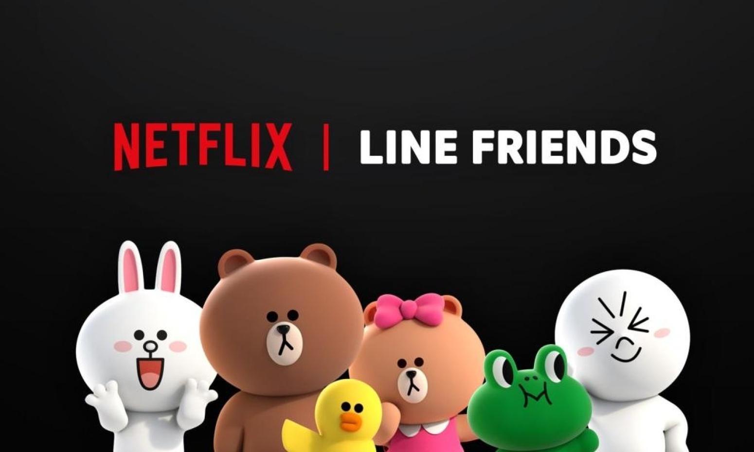 Netflix 将联合 Line Friends 推出原创动画系列