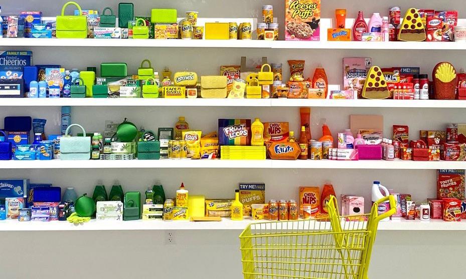 亮相迈阿密,设计师 Gelareh Mizrahi 打造色彩超市 Pop-up Store