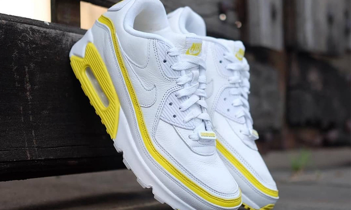 UNDEFEATED x Nike Air Max 90 发布「Optic Yellow」全新配色