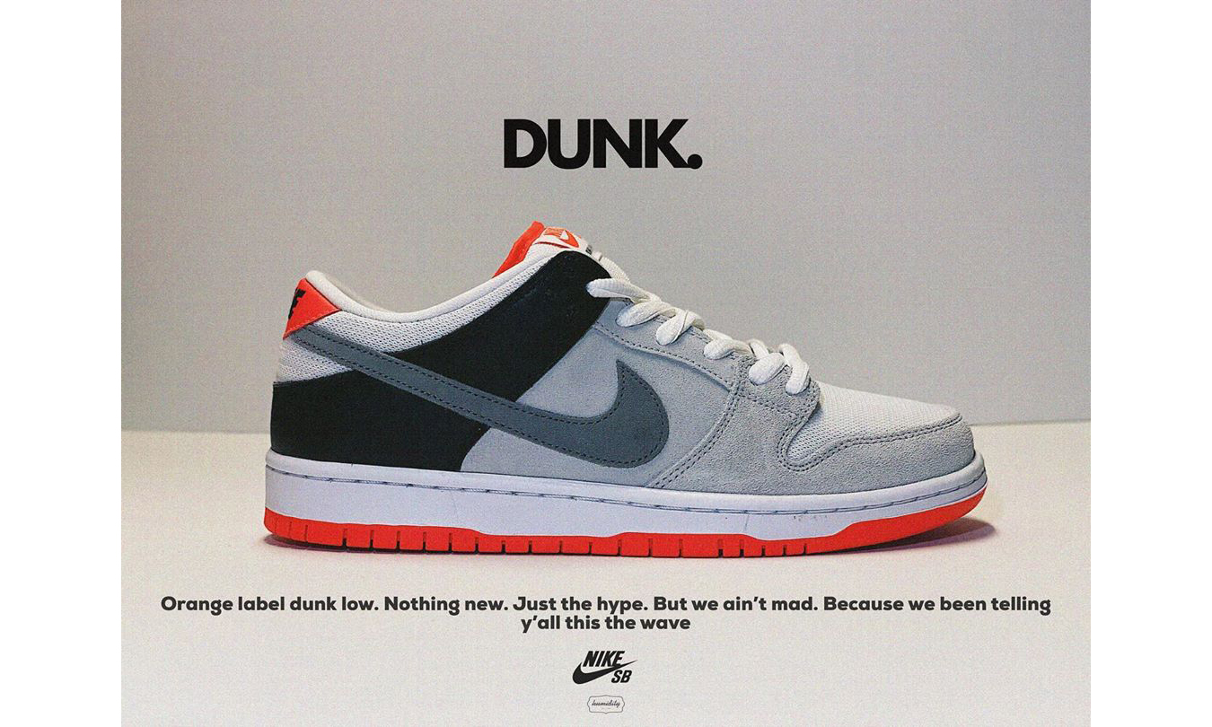 Nike SB 为 Dunk Low 带来全新「Infrared」配色