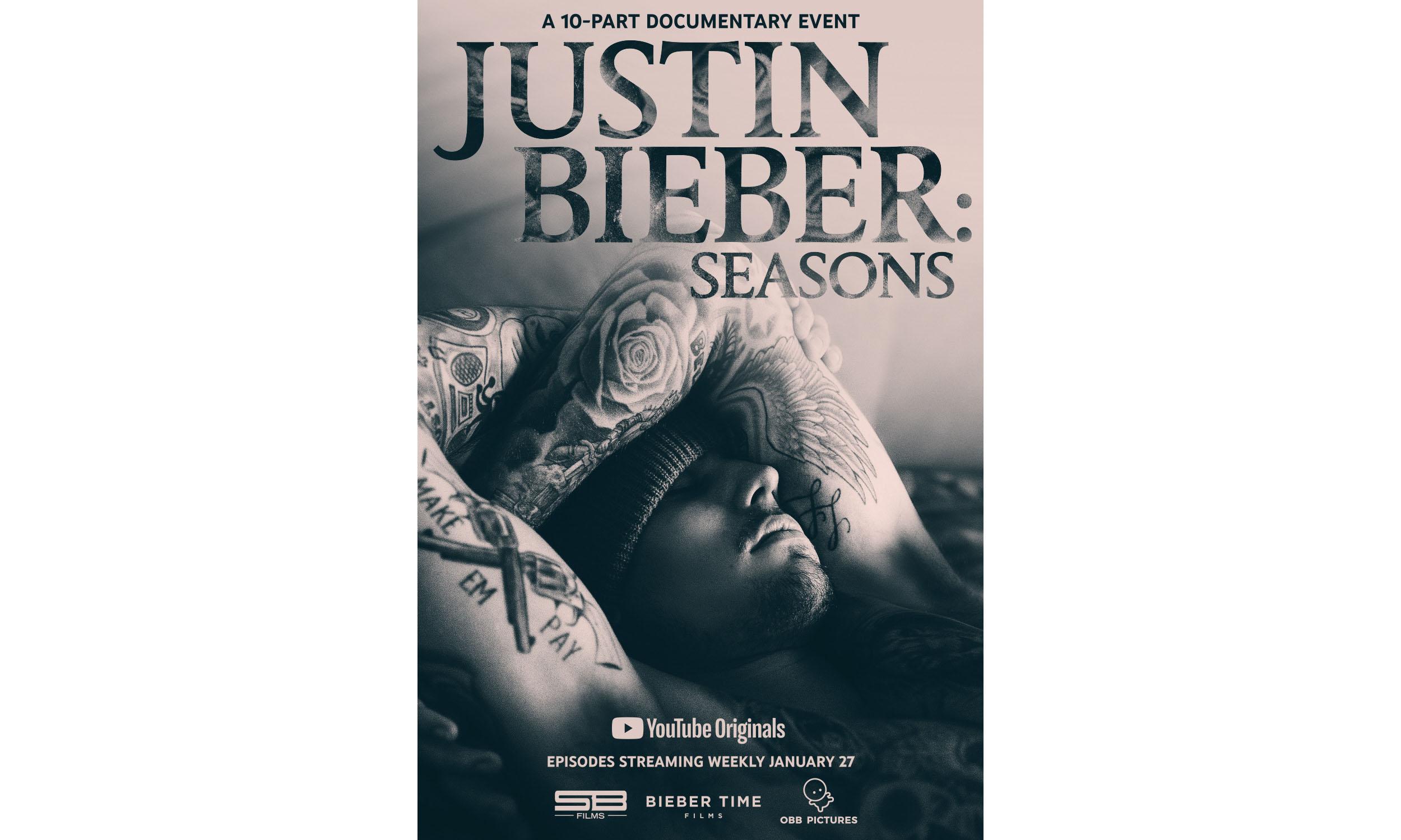 Justin Bieber 纪录片《Seasons》今日正式开播