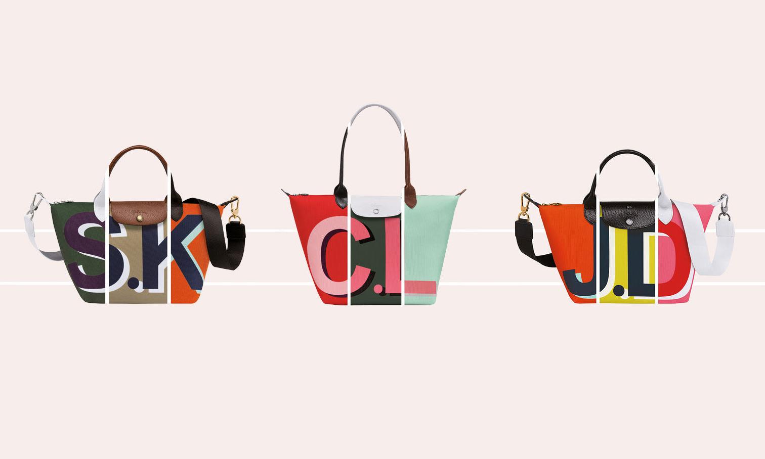 拥有客制化缩写款包袋,Longchamp 全新服务上线