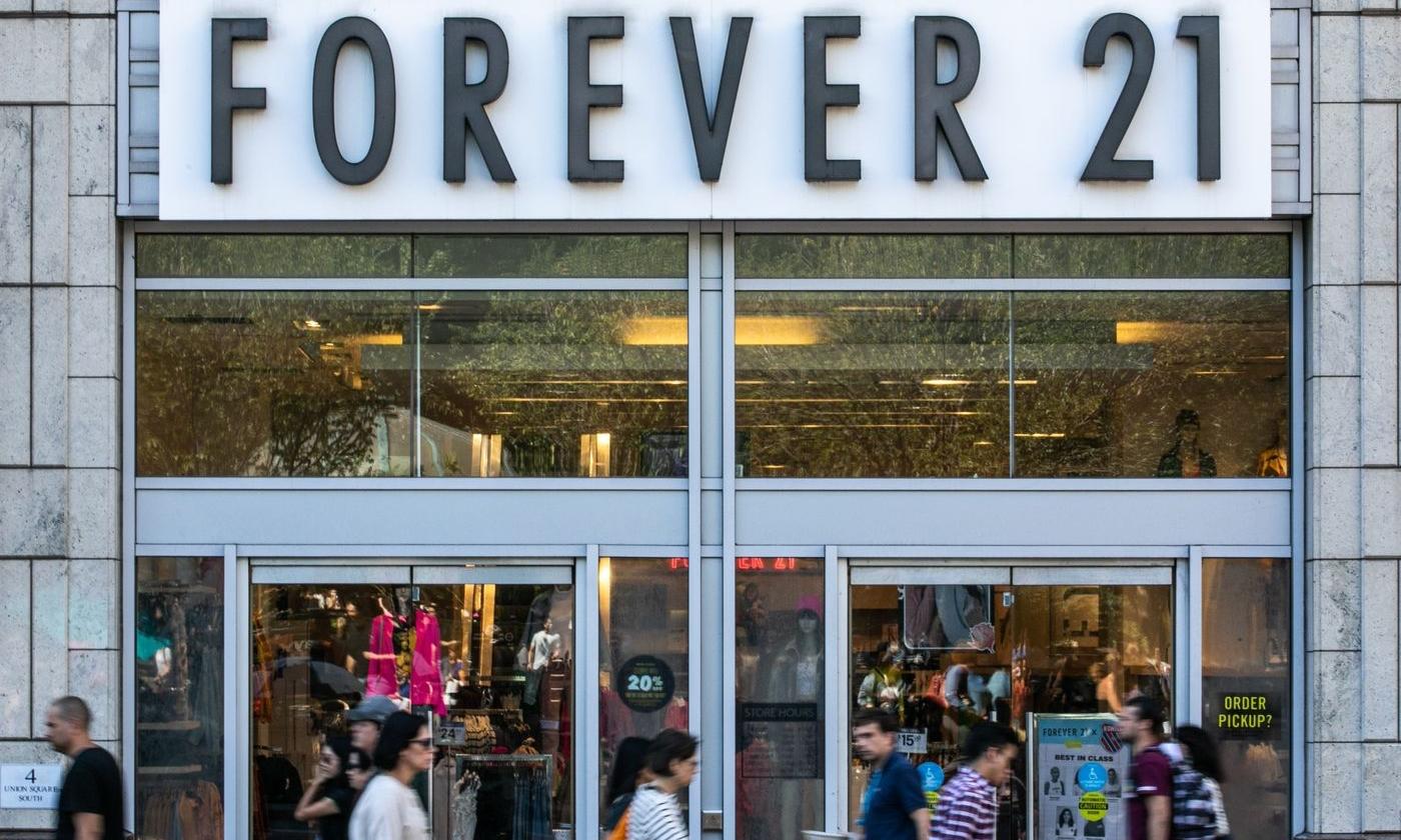 美国快时尚零售商 Forever 21 或将被收购