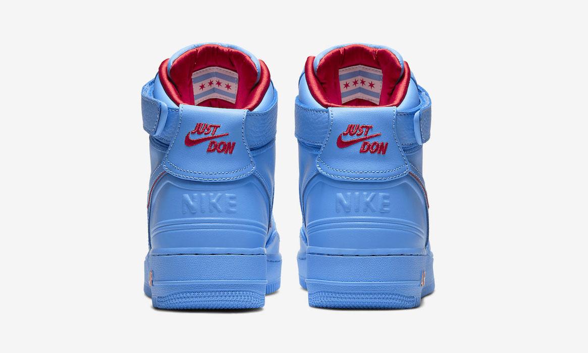 Just Don x RSVP x Nike Air Force 1 High「All Star」官方图片释出