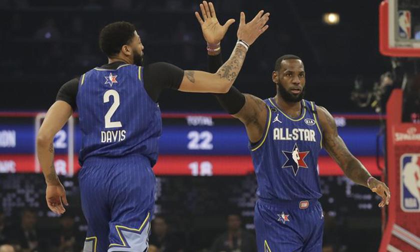 史无前例的画面,2020 NBA 全明星赛落幕
