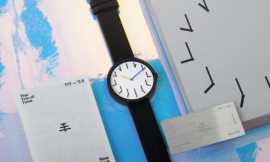 携手 MoMA 博物馆,腕表品牌 Anicorn 推出「时针」设计系列