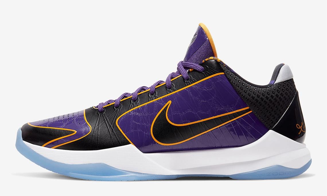 Nike Zoom Kobe V Protro「Lakers」配色发售日期确定