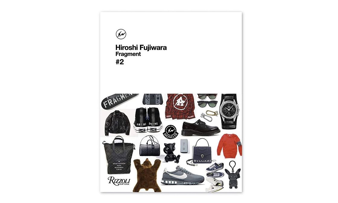 藤原浩携手 Rizzoli 推出新书《Hiroshi Fujiwara: Fragment #2》