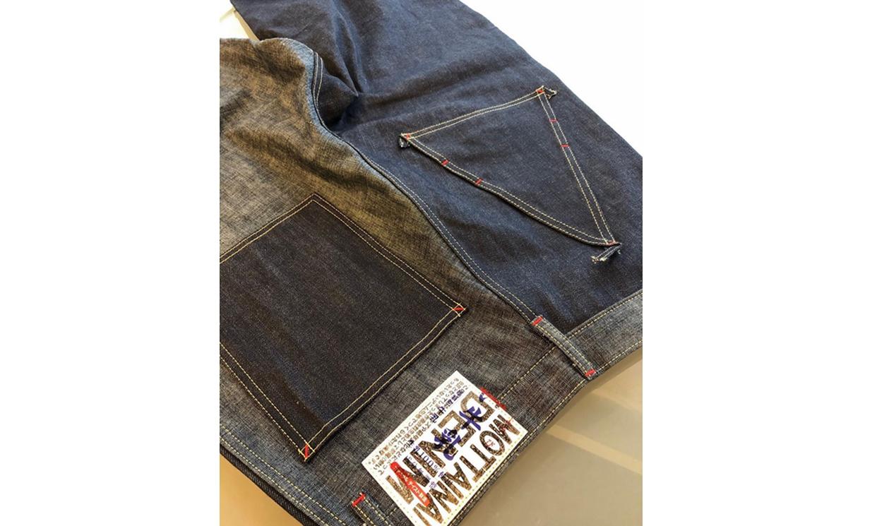 牛奶盒「再利用」,KAPITAL 推出全新 Mottainai Denim 牛仔裤