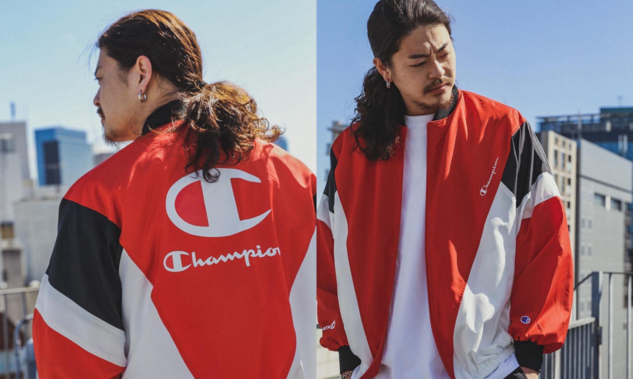 Champion x ATMOS LAB 全新合作系列正式发布