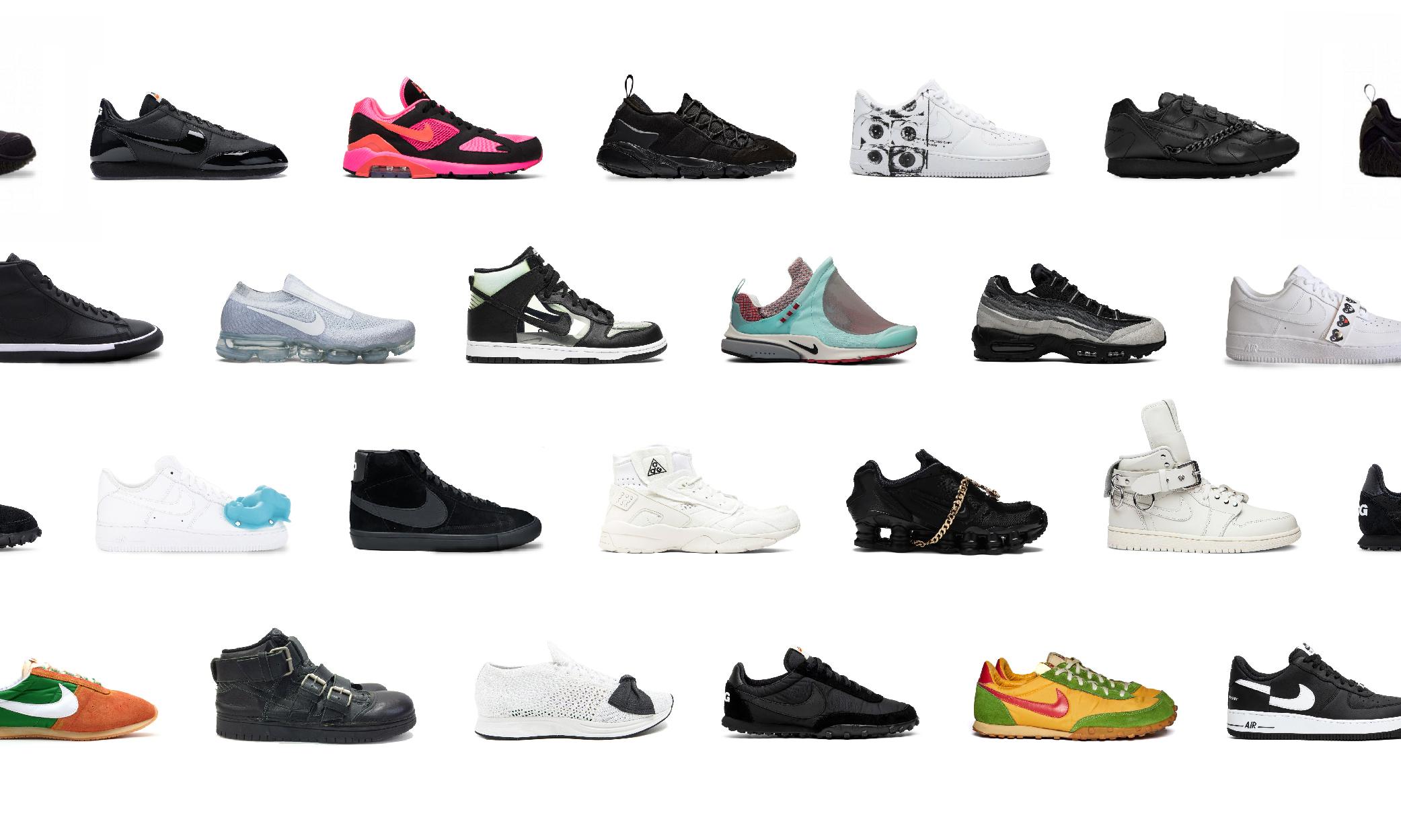 CdG x Nike 长达 20 年的长线合作,哪双是最佳设计?