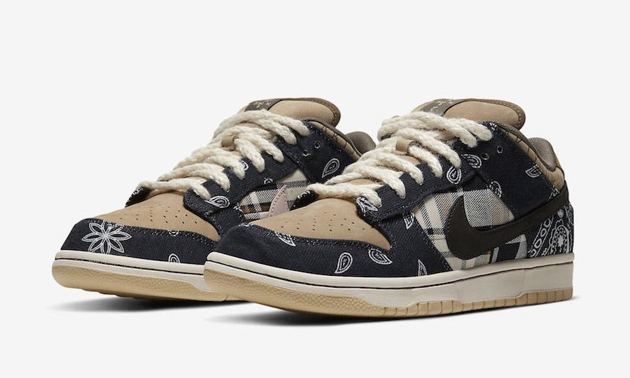Travis Scott x Nike SB Dunk Low 或有可能登陆 SNKRS 发售?